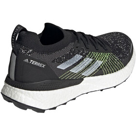 adidas TERREX Two Ultra Parley Trail Running Shoes Men, core black/feather white/solar yellow